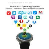 relógio esperto Android do telefone 3G com o monitor da frequência cardíaca (DM368)