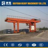 50トンの高品質の走行の容器のガントリークレーン