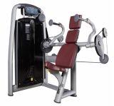 Gimnasio Gimnasio la fuerza del brazo de la máquina La máquina de extensión de tríceps