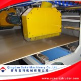 Placa da espuma da crosta do PVC para a extrusão do molde do edifício que faz a máquina