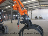 保定の車輪の掘削機の木製のLoaidng機械