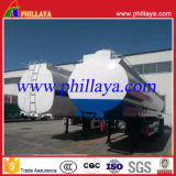 3axle 50cbm de Zure Chemische Vloeibare Semi Aanhangwagen van de Tank 40tons