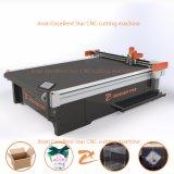 Excelente Star vibrando faca CNC máquina de corte de papelão com Auto-Feeding 2516