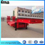 35 ton Aanhangwagen 2 van Lowbed van Semi de Semi Aanhangwagen van Lowboy van de As
