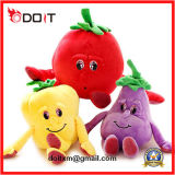 Подгонянная игрушка плюша овоща мягкого плодоовощ для выдвиженческих подарков