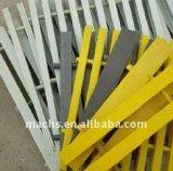 Resistencia a la corrosión Pultruded FRP estructural que ralla con la superficie cóncava