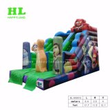 Kids Enjoying를 위한 유행 Kids Toy Cool Car Inflatable Dry Slide Innovation의 Develop Their Interests에 Happy Holiday