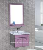 Розовый шкаф ванной комнаты нержавеющей стали