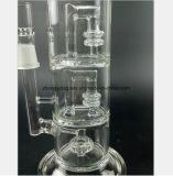 Tubo del humo del vidrio de filtro de la capa doble