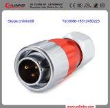 Dh20 la alta calidad IP67 impermeabiliza el conectador 3pin/el conectador de cable