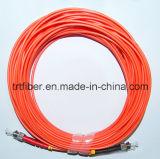 St/St mm Duplex Fiber Optic Patch Cord