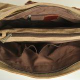 Couture en cuir véritable sac de toile lavée ordinateur Fashion sac à main (RS-881A)