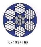 직류 전기를 통한 철강선 밧줄 6X19+Iwrc/FC