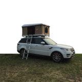 電子SUVのトラック車のキャンプの堅いシェルの屋根の上のテント