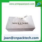 Bespoke vestuário distintivo saco de papel de embrulho