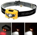 Wasserdichte Ipx7 100 Hauptlampe der Lumen-LED mit Firmenzeichen gedruckt (4000)