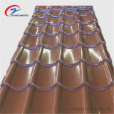 0.26mm Tata 지붕판 PPGI 골판형 강철 시트 판매