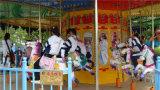 La meilleure vente joyeuse vont carrousel de mini conduites de champ de foire de rond petit