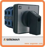 Interruptor de selector rotatorio de la alta calidad 25 amperios