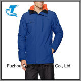 人のためのスキースノーボードのジャケットの青