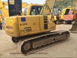 Excavatrice utilisée PC120-6 de chenille de KOMATSU pour la construction