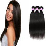 100%の加工されていないブラジルの膚触りがよくまっすぐな織り方の毛の拡張