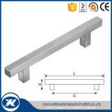 Maniglia personalizzata della barra della cavità T del quadrato dell'acciaio inossidabile con il prezzo basso