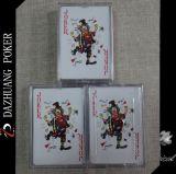 Cartões de jogo de Wynstan na caixa plástica