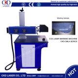 Машина маркировки лазера СО2 высокоскоростная для кожаный деревянных электронных блоков