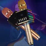 Microfono portatile senza fili H8 di karaoke con gli indicatori luminosi del LED