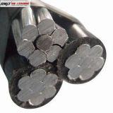 Obenliegendes Aluminiumisolierung ABC-Kabel des leiter-XLPE