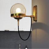 Lámpara casera de bronce postmoderna del aplique de la pared de Dopet para la sala de estar