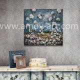ホーム装飾のためのハンドメイドの綿フィールド農場の芸術の油絵