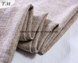 Más difícil la textura de tela de lino para sofá cubre