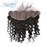 熱い販売の安い価格の中国の深い波13X4の正面人間の毛髪
