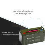 Batterie solaire rechargeable de gel de cycle profond du plaisir De-Abg 120ah 12V