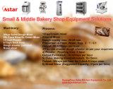 Cer-anerkannter automatischer Brot-Backen-Ofen für die Herstellung des Brotes und des Biskuites