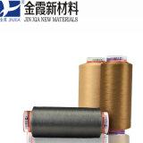 geverfte het Verdovende middel van het Garen van de Gloeidraad van de Polyester 1000d/288f DTY