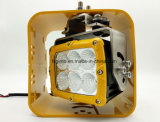 Puissante LED carrés 60W pour phares de travail de l'équipement de machines à usage intensif (GT24001-60W)