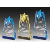 La nuova abitudine cinque stelle di disegno Stars il premio del trofeo di cristallo