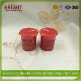 Dekoratives duftendes Votive Kerze-Großhandelsgeschenk eingestellt in Belüftung-Kasten