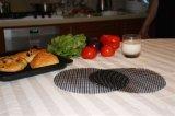 Aucune substance toxique pour le filet de fibre de verre Non Stick Barbecue mat
