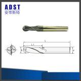 Utensile per il taglio del laminatoio della sfera d'acciaio del tungsteno del laminatoio di estremità di fabbricazione