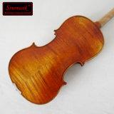 Violon fabriqué à la main antique de professionnel de violon d'instrument de musique d'OEM