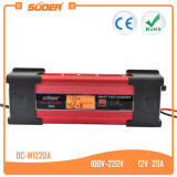 Suoer 20A carregador de bateria acidificado ao chumbo inteligente do carro de 12 volts com Ce (DC-W1220A)
