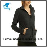 단순한 설계 최신 여자의 극지 양털 재킷