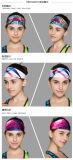 印刷された多彩な女性のヨガのヘッドバンド