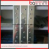 Planche/passerelle en acier galvanisées pour l'échafaudage