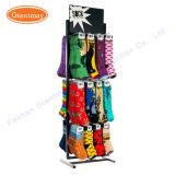 Rotating Floor Standing Retail Blind Fixtures Metal Socks Countertop Displays Stand and Rack