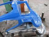 サーボモーターを搭載する射出成形機械を作る椅子